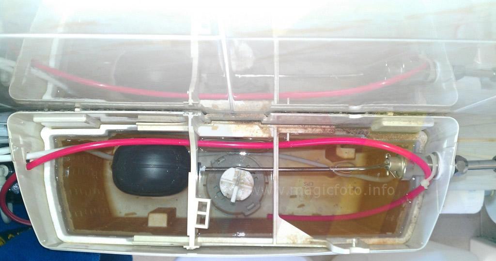 Recupero acqua da impianto di filtraggio a osmosi inversa - Risparmio Energia
